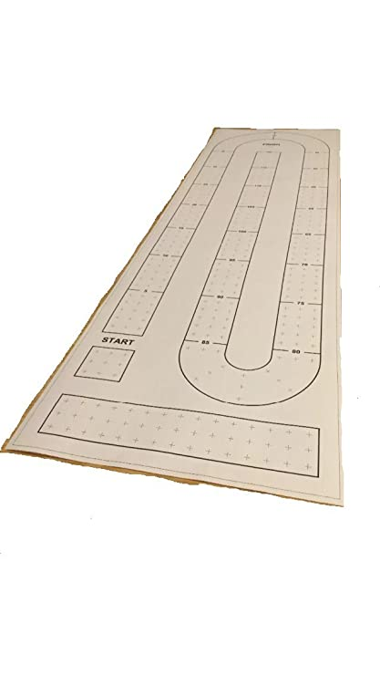 Large Cribbage Board hole pattern paper template - - Amazon com
