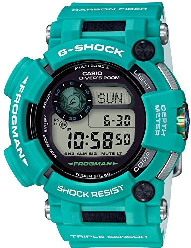 CASIO G-SHOCK FROGMAN MASTER IN MARINE BLUE GWF-D1000MB-3JF MENS