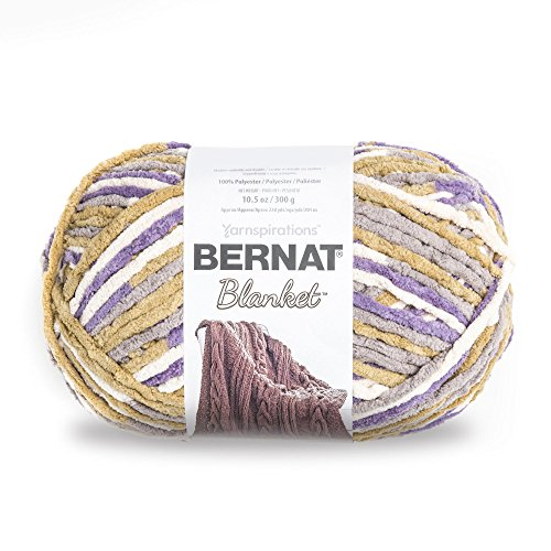 Bernat Blanket Yarn, Lilac Bush ()