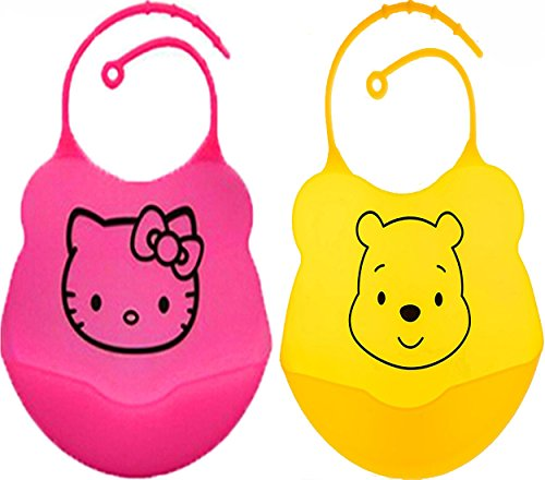 Waterproof Soft Silicone Baby Bibs product image