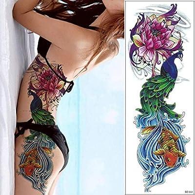 Zhuhuimin 3 unids Etiqueta engomada del Tatuaje Impermeable Brazo ...