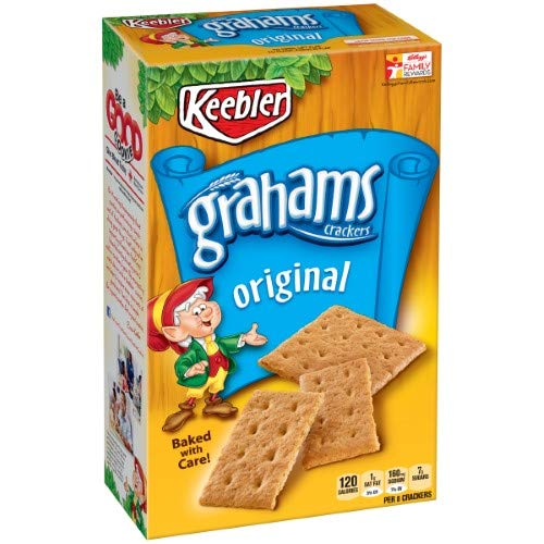 Keebler Grahams Crackers, Original (Pack of 36)