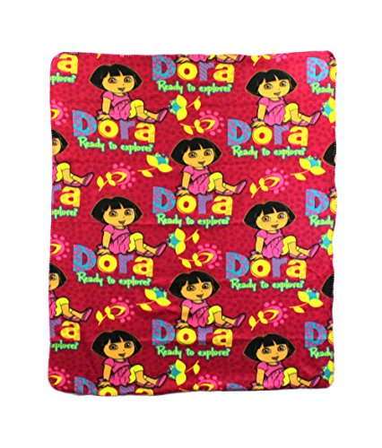 The Northwest Company Dora Ready to Explore Fleece Character Blanket 50 x 60-inches ()