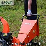 EFCUT C30 Mini Wood Chipper Shredder Mulcher 7 HP