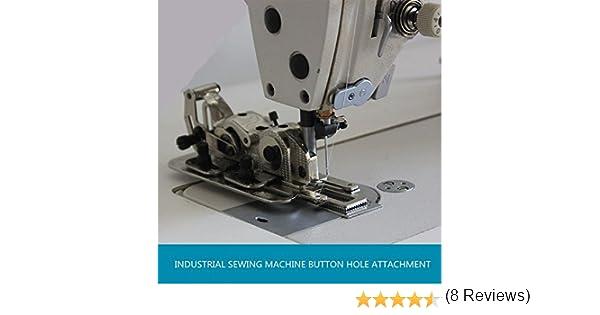 yeqin Industrial máquina de coser botón agujero fijación Brother ...