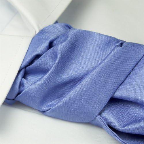 Cravat y balón de maceta con sistema de corbata pañuelo de lavanda ...