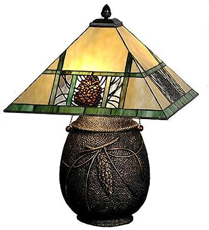 Meyda tiffany 67850 pinecone ridge table lamp 195 h amazon meyda tiffany 67850 pinecone ridge table lamp 195quot aloadofball Gallery