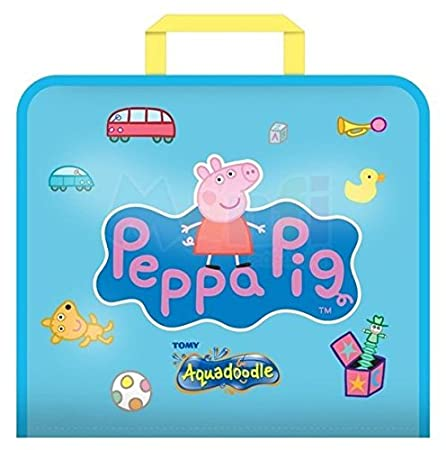Amazon.com: Aquadoodle Peppa Pig Doodle Bag: Toys & Games