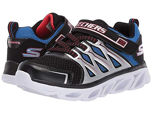 Skechers Kids Boy's Hypno-Flash 3.0 90511L Lights (Little Kid/Big Kid) Black/Red/Blue 13.5 M US Little Kid