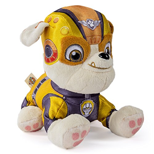 Paw Patrol Air Rescue, 8″ Plush Pup Pals, Rubble
