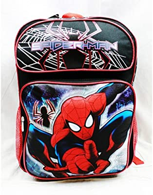 Marvel Backpack Spiderman - Activity Fun (Large School Bag) New us23185