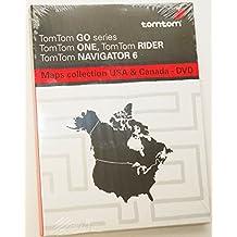 TomTom USA & Canada Maps Card DVD Software Disc 2006 GPS XXL XL GO ONE code