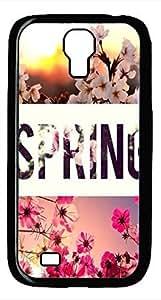 Samsung Galaxy S4 I9500 Black Hard Case - Spring Galaxy S4 Cases hjbrhga1544
