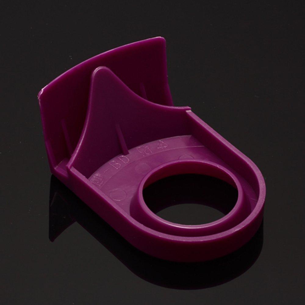 Purple//8 PCS LOHOME/® Drink Clips for Schooner and Goblet Style Glasses Margarita Glasses