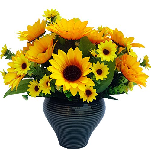 2PCS Artifical Flowers Artifical Sunflowers Artifical Plants-Bouquet For Home Decoration/Wedding Decor