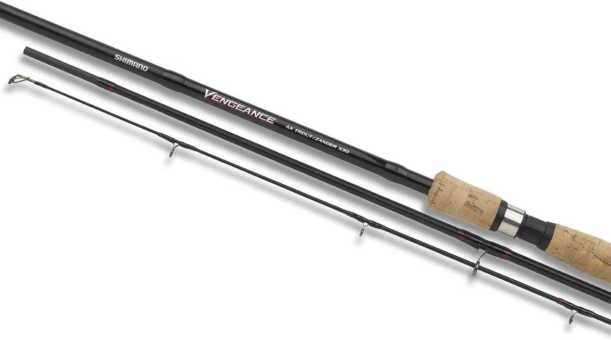 Shimano VAXTRZ330 Vengeance AX - Caña de pescar (3,3 m, 5-40 g ...
