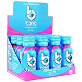 VPX Bang Shot World's First Carbonated Energy Shot Rainbow Unicorn 24 (3fl oz) Shots