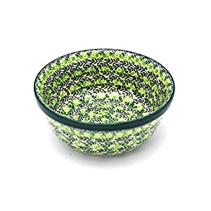 Polish Pottery Bowl – Soup and Salad – Irish Meadow