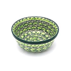 Polish Pottery Bowl – Soup and Salad – Irish Meadow