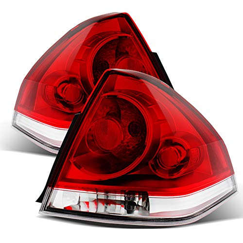 ACANII - For 2006-2013 Chevy Impala Replacement Tail Lights Brake Lamps 06-13 Pair Left+Right