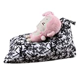 DDLBiz Kids Beadroom Household Stuffed Animal Plush Toy Storage Bean Bag Soft Pouch Chair (D)