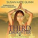Third Daughter: The Royals of Dharia, Book 1 Hörbuch von Susan Kaye Quinn Gesprochen von: Ulka S. Mohanty