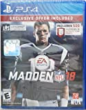 Madden NFL 18 Limited Edition (PlayStation 4) - Exclusive Offer (Includes 500 Madden NFL 18 Ultimate Team Points)