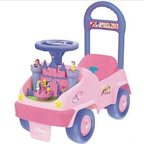 Kiddieland Disney Baby Princess Activity 4-in-1 Ride-On (Princess Activity Ride On)