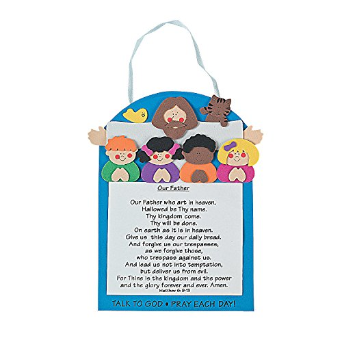 Otc The Lord's Prayer Craft Kit With Multicultural Children