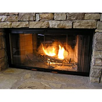 Amazon Com Heatilator Fireplace Doors Black 36 Quot Series