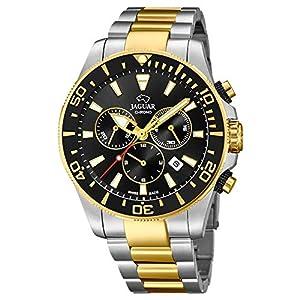 Reloj JAGUAR Executive Hombre J862/1-2 / Reloj cronógrafo Suizo con Brazalete de Acero 10