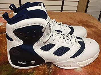 Image Unavailable. Image not available for. Colour  Reebok Men s ATR Boom  Dizzle Basketball Shoes White Navy size ... 688b85c13