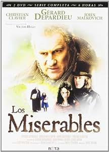 Los Miserables [DVD]: Amazon.es: Gerard Depardieu, John