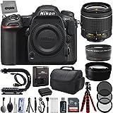 Nikon D500 20.9MP 2160P DSLR Camera w/ 3 Lens - Nikon 18 to 110 - 32GB - 18PC Kit - Nikon 18-55VR+ Opteka 2.2x Telephoto + Opteka .43x Wide Macro