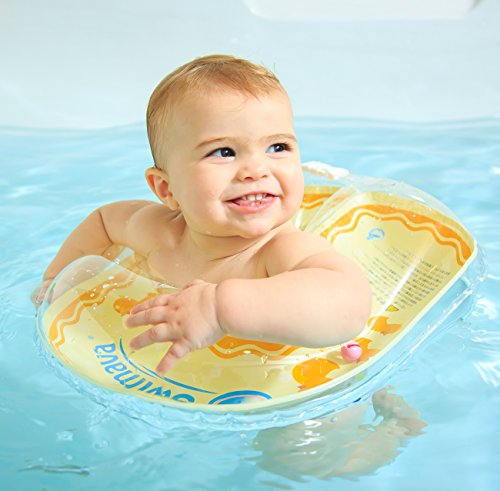 Swimava G-2 Baby Body Ring (Small/ Yellow) (Ring Neck Baby Swimming)
