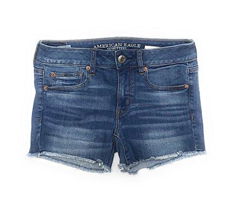 Eagle Denim Shirt - American Eagle Women's Midi Shorts Low Rise W-25 5070 (8, 5070)