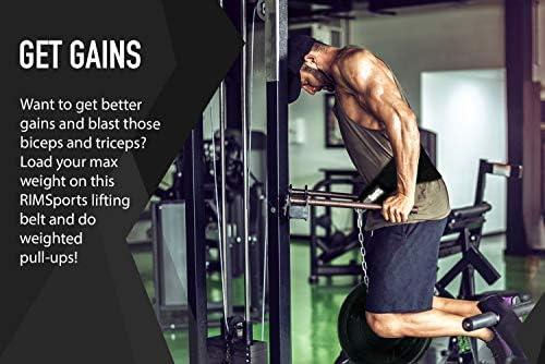 Chin-ups Spud DIP BELT Weighted Dips Pull-Ups Powerlifting Weightlifting BLACK