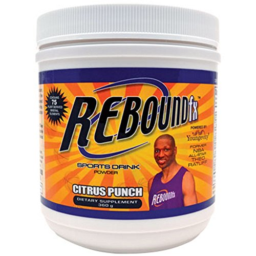 REBOUND FX CITRUS PUNCH POWDER - 360 G per CANISTER - 2 Pack