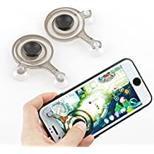 Mobile Game Joystick Phone Game Rocker Touch Screen Joypad Tablet Funny Game Controller For Phone or Pad(2pcs)