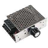DROK 10000W 110V AC SCR Electronic Thyristor Motor Speed Control Voltage Power Heat Regulator Governor Thermostat Dimmer