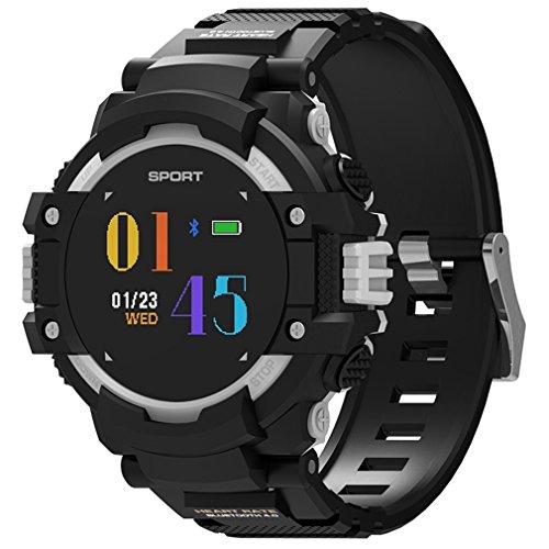 CCYOO F7 GPS Reloj Inteligente para Exteriores, Dispositivo portátil, rastreador de Actividad, Bluetooth 4.2, altímetro,...