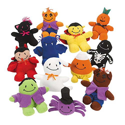 Bean Bag Stuffed Smile Face Monster Assortment