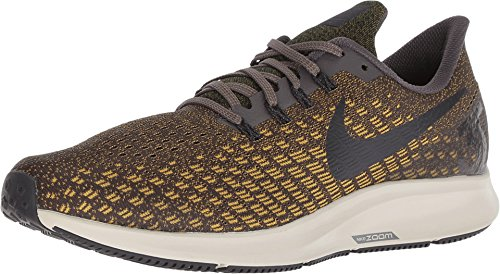 NIKE Men's Air Zoom Pegasus 35 Running Shoes (12.5, Olive)