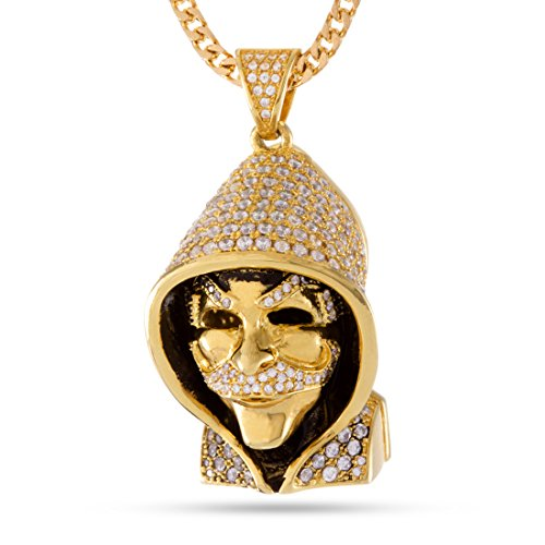 The Fsociety Necklace (14K Gold Plated) by King Ice