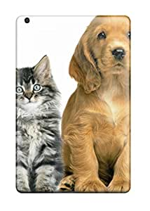 Ipad Mini/mini 2 Case Cover - Slim Fit Tpu Protector Shock Absorbent Case (cat And Dog )