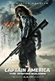 BUCKY- Captain America: The Winter Soldier (2014) : Movie Poster (Thick Poster) Original Size 16'' x 24'' Inches - Chris Evans, Frank Grillo, Sebastian Stan