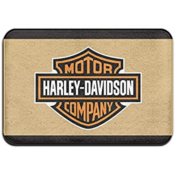 Kongpao Harley Davidson Logo Doormats / Entrance Rug Floor Mats