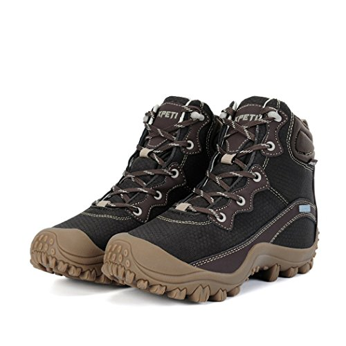 Boots DIMO Coffee Hiking Mid Classical Top Women's XPETI HSqwfP7P