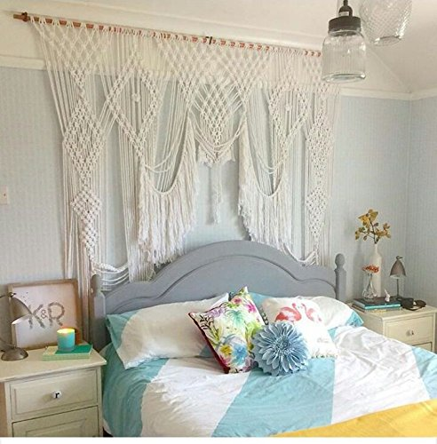 Macrame Wall Decor Hanging - Bohemian  Geometric Art