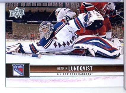 Image Unavailable. Image not available for. Color  2012-13 Upper Deck  Hockey Card  122 Henrik Lundqvist New York Rangers 6215090e7